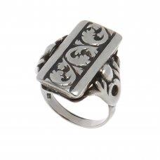 Inel din argint 925, unisex, motive vegetale, circumferinta 57 mm, Beauty Room, IAG231